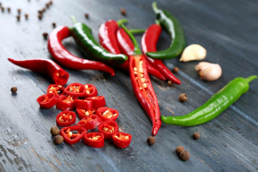 Ät chili och lev längre!