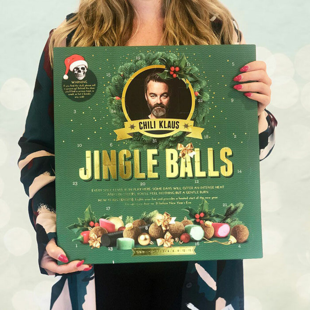 Jingle balls från Chili Klaus.