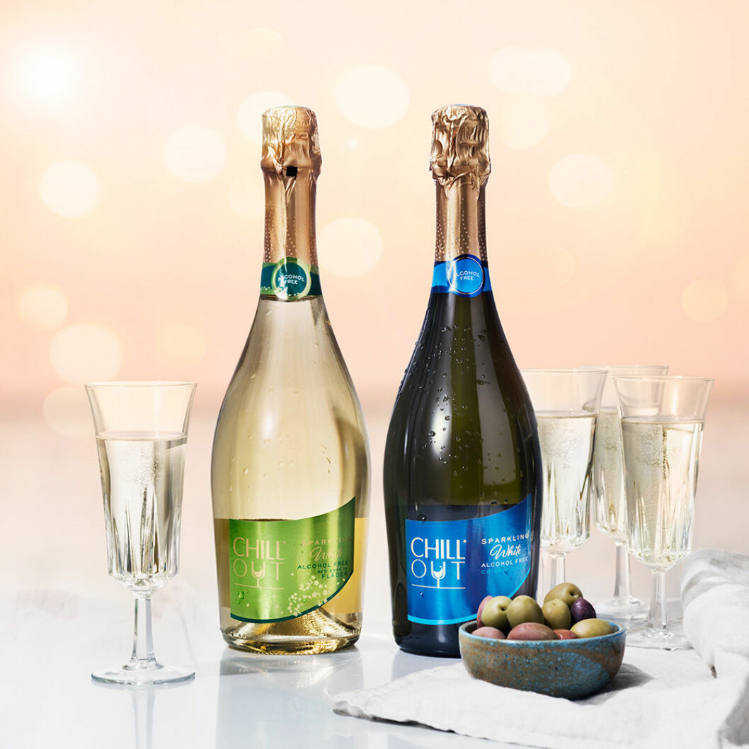 Chill Out Sparkling Fläder och Chill Out Sparking White.