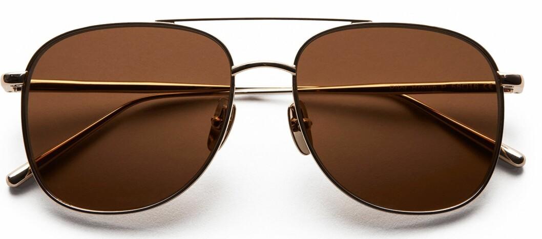 bruna pilotsolglasögon från chimi i oversized modell.