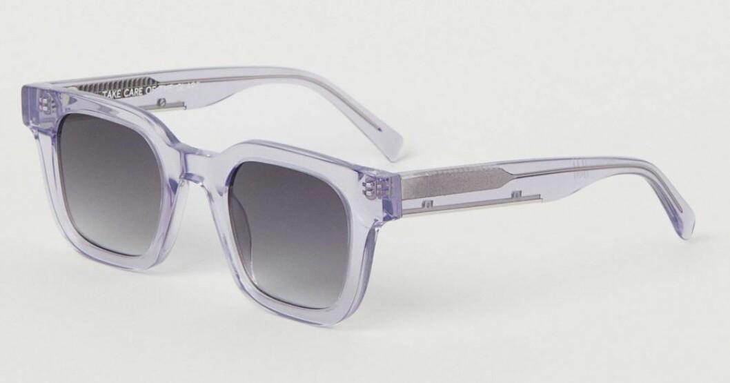 lila solglasögon från Chimi x H&M.