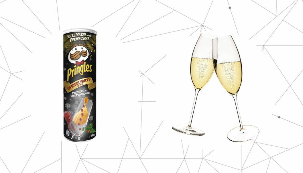 Pringles lanserar chips med smak av prosecco