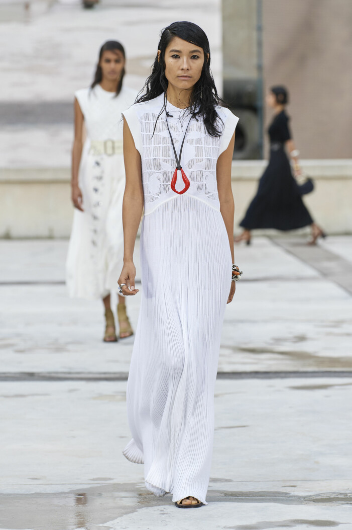 Vit klänning sommar 2021