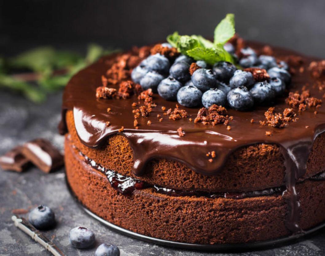 Den perfekta chokladtårtan – stenbockens favorit.