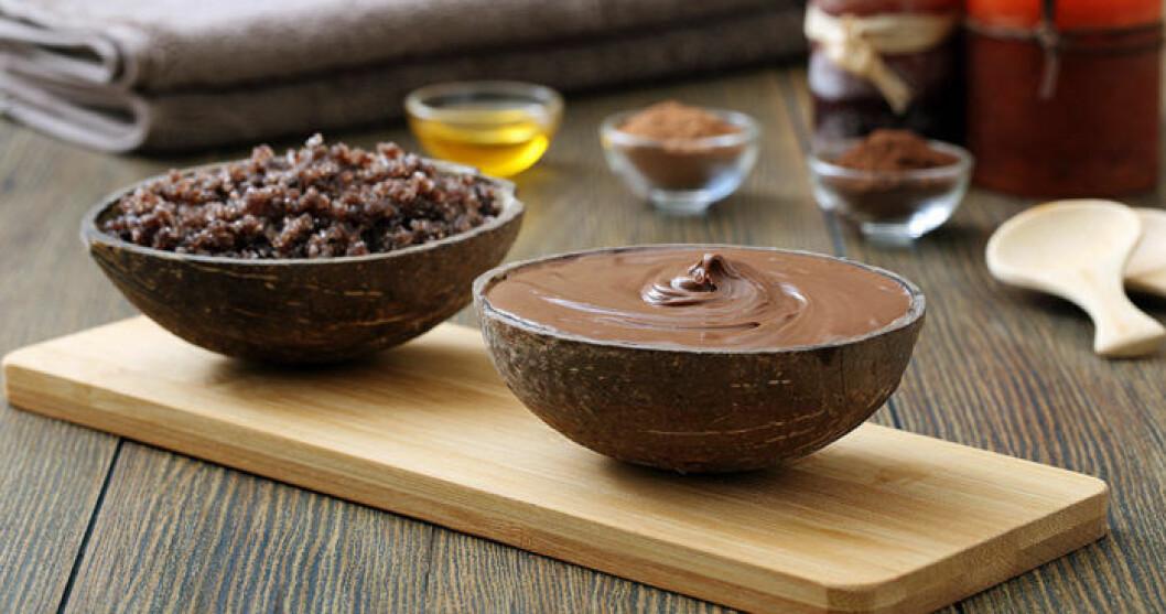 Testa att ringla lite olivolja över chokladen!