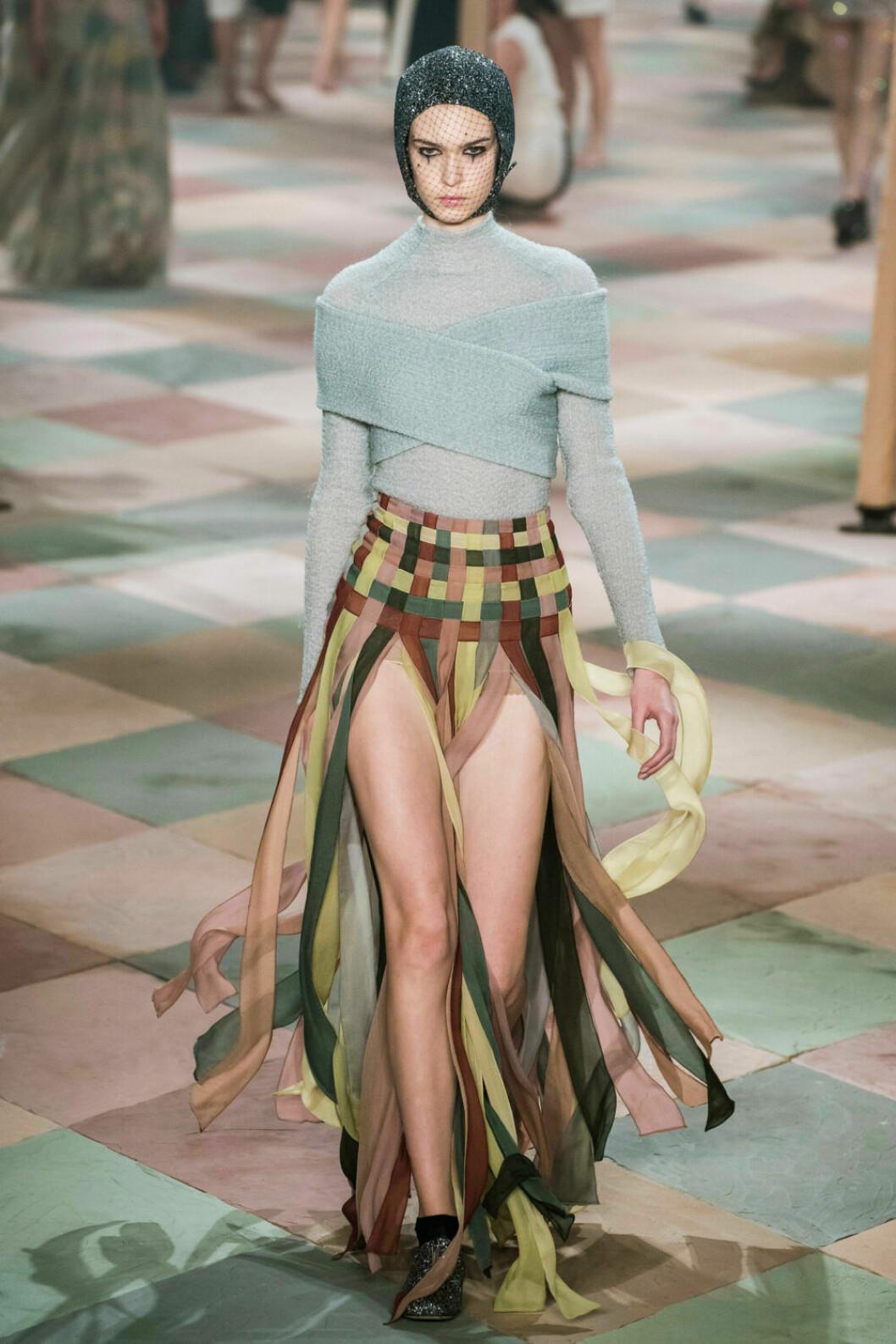Färgkavalkad på Diors SS19 haute couture–visning