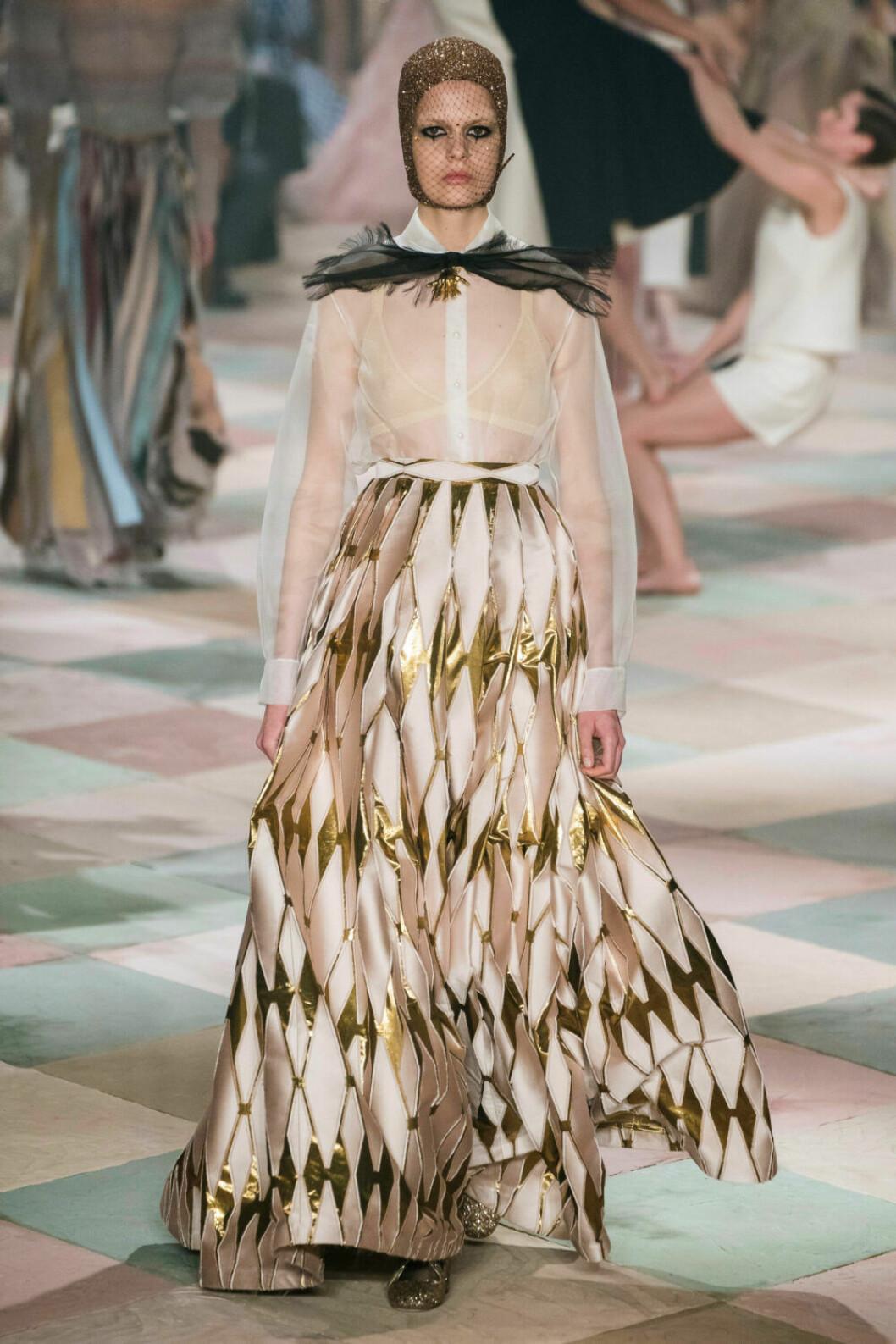 Tydligt cirkustema på Diors SS19 haute couture–visning