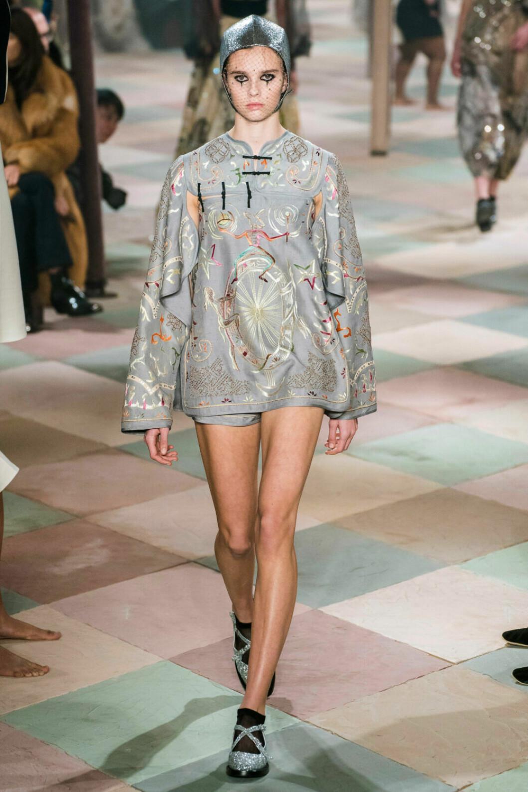 Asiatiska influenser på Diors SS19 haute couture–visning