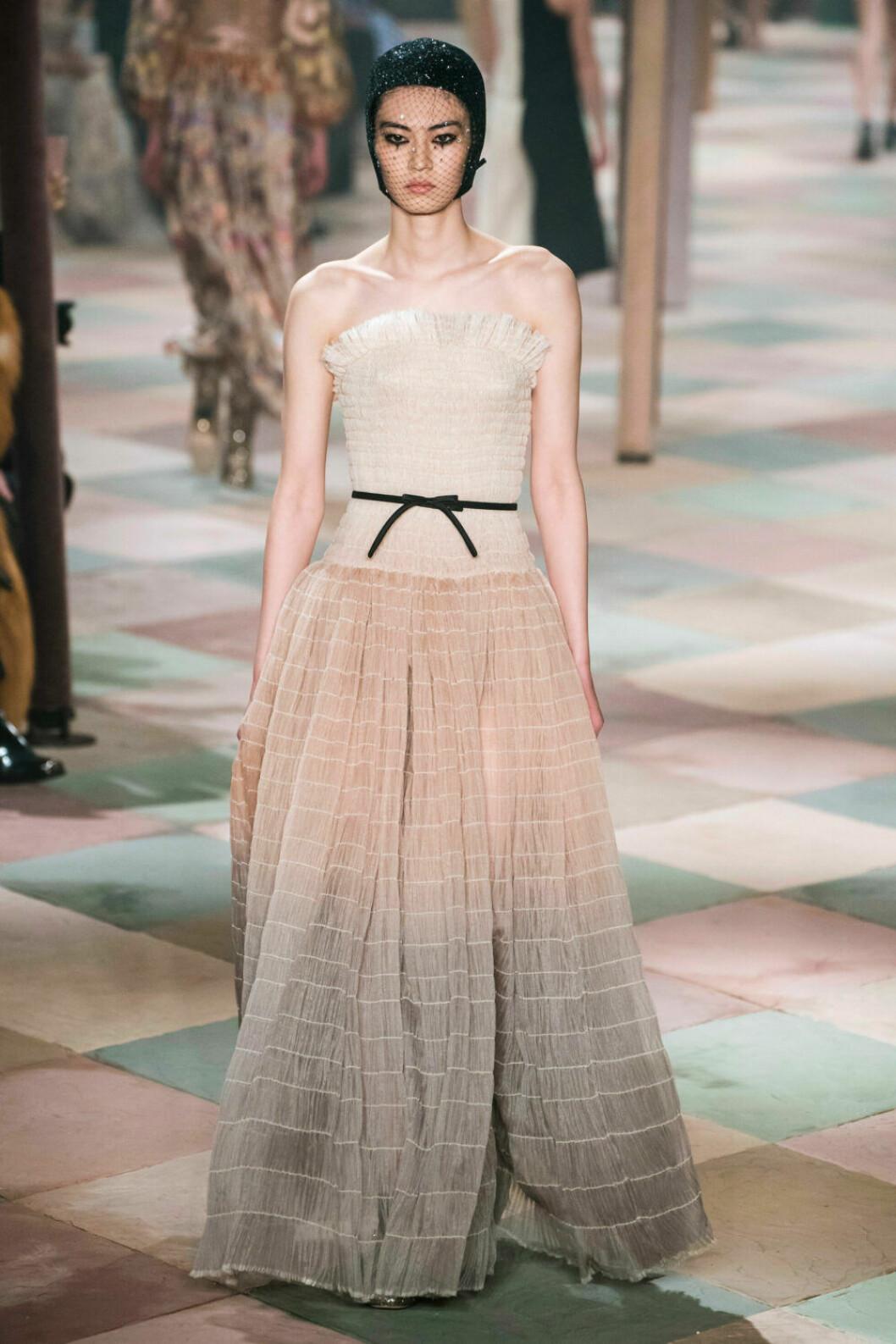 Härligt nude på Diors SS19 haute couture–visning