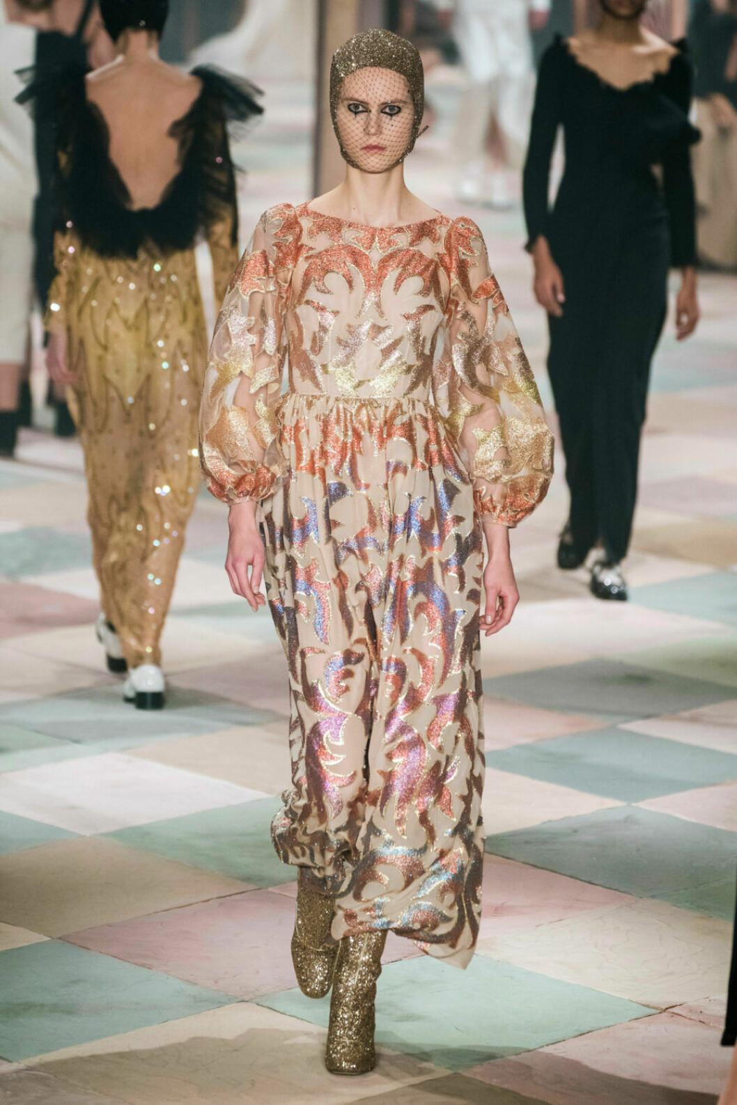 Mönster och färg på Diors SS19 haute couture–visning