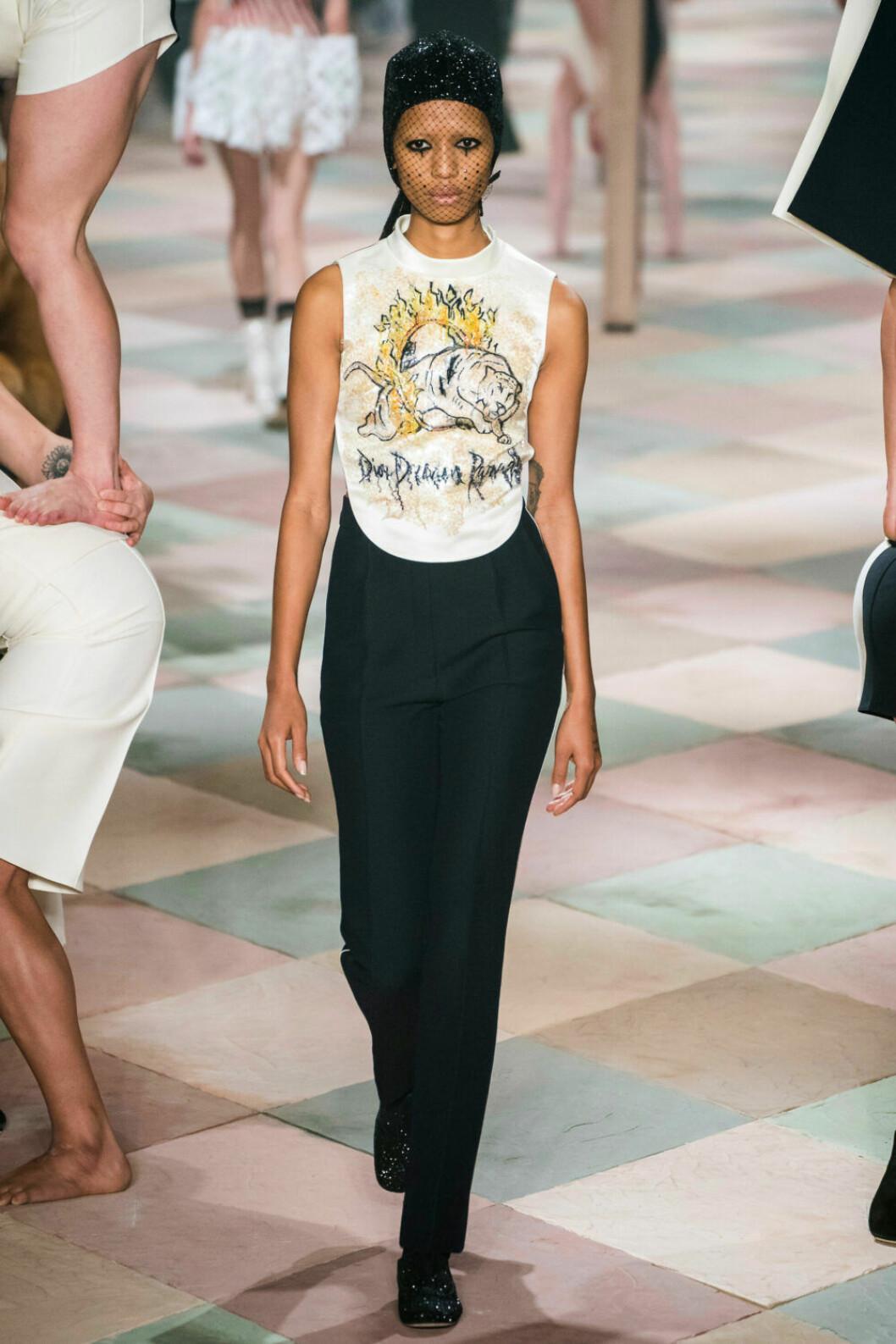 Avslappnat men elegant på Diors SS19 haute couture–visning