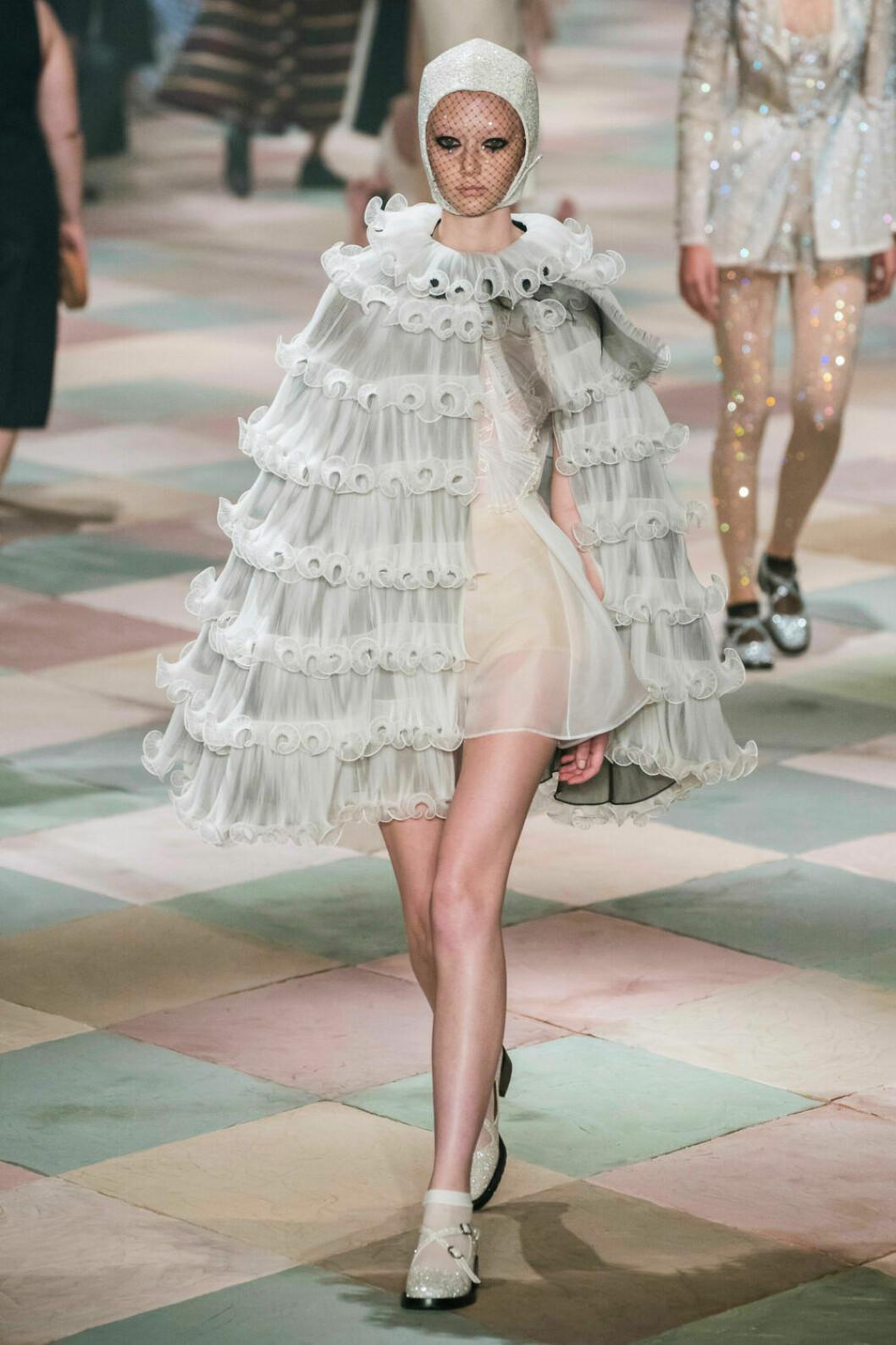 Svårslagen chiffongdröm på Diors SS19 haute couture–visning