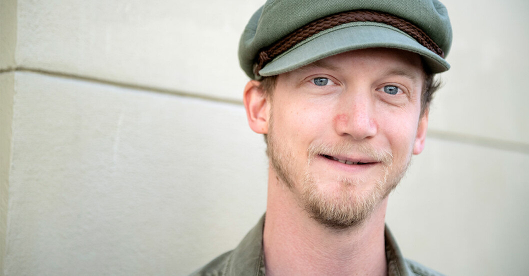 Christoffer Nordenrot debuterade som huvudrollsinnehavare i Den blomstertid nu kommer