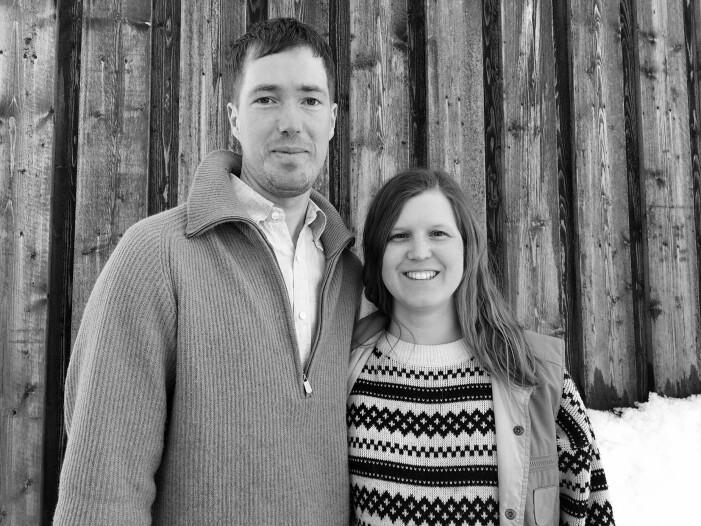 Christopher och Sara Smeds Bjerlo, sommelier respektive souschef på Fjällnäs resort