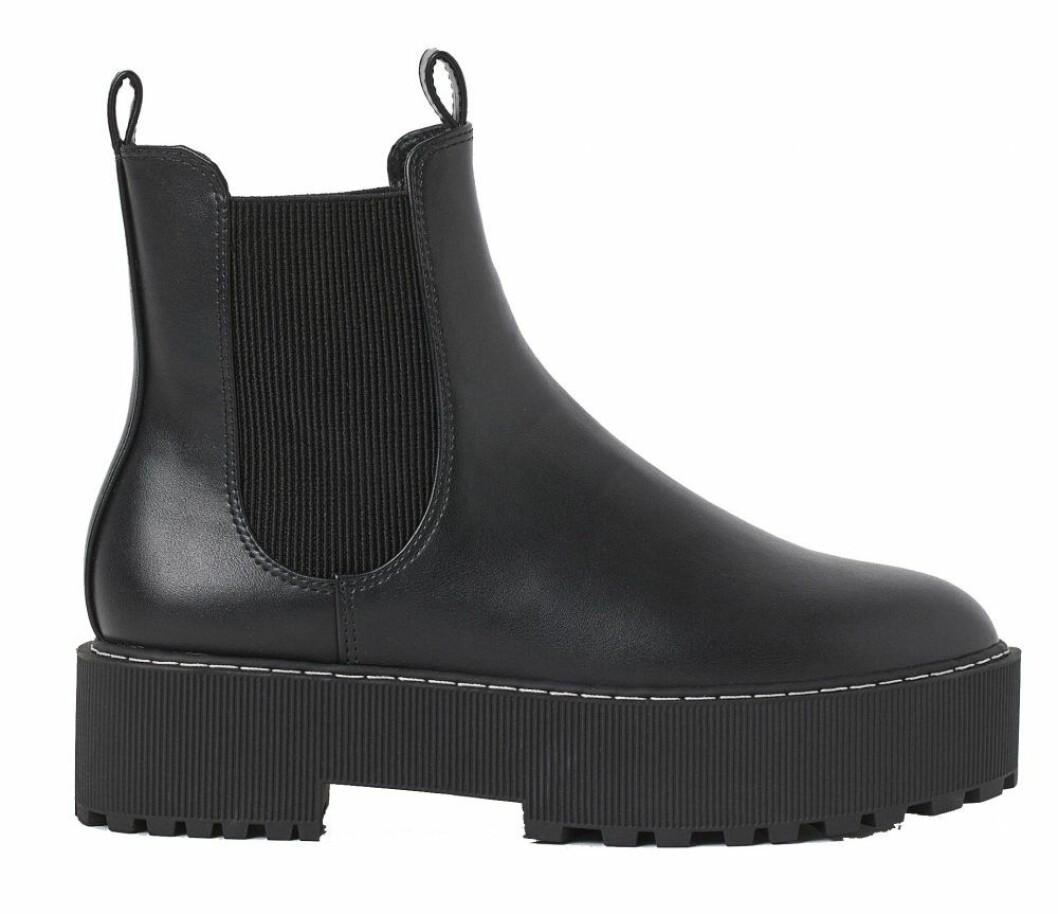 Chunky boots med lågt skaft från H&M