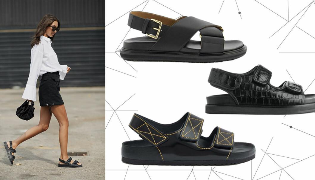 Shoppingtips på chunky sandaler