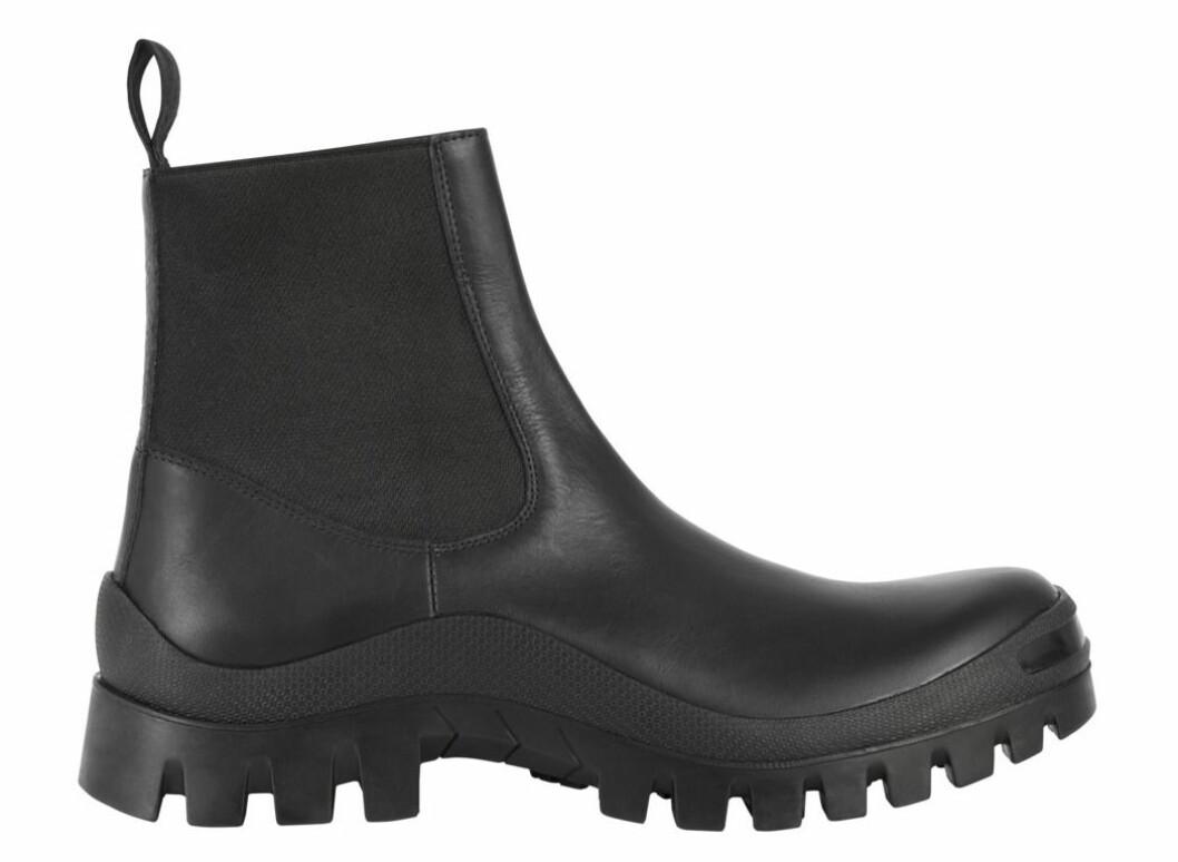 Grövre chunky boots med resårdetaljer från Atp Atelier