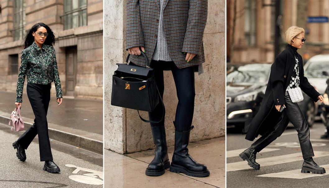 Chunku boots är det enda vi vill bära hösten 2020.