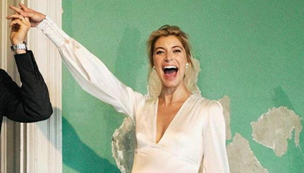 Cissi Forss hemliga bröllop med Fredrik – byter namn