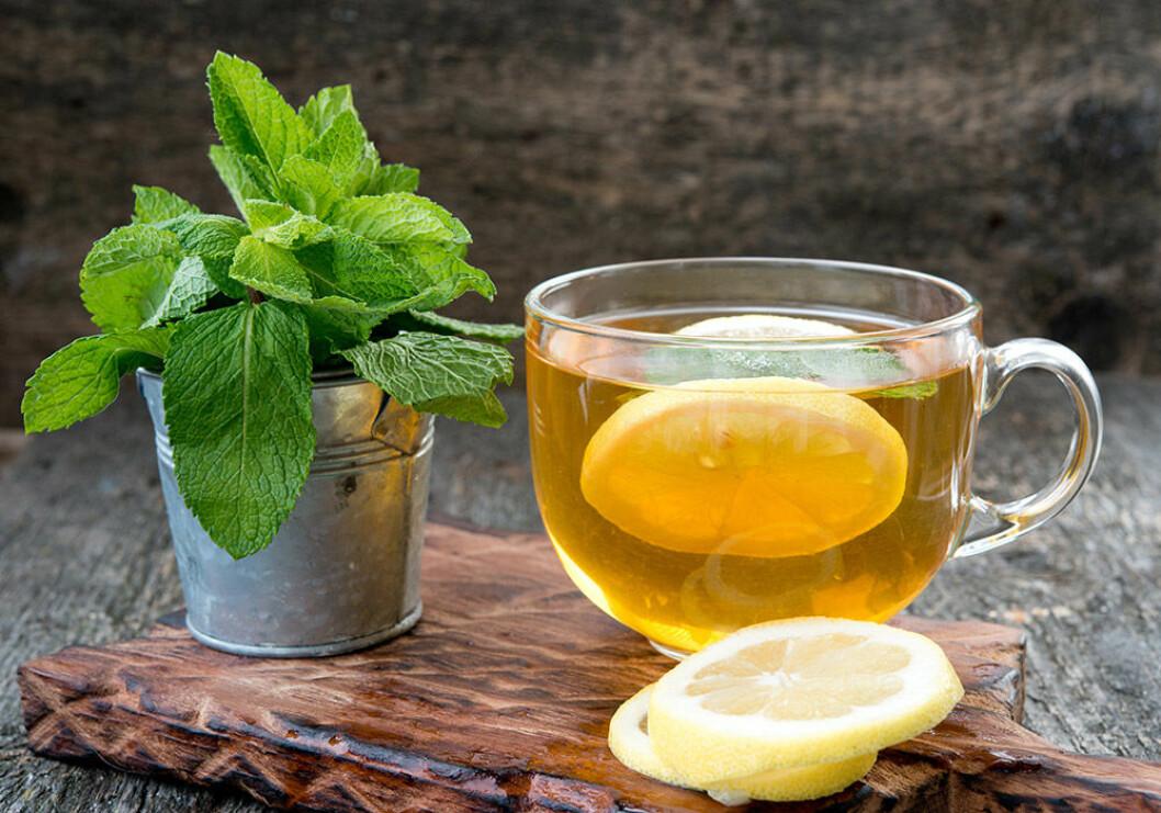 Starta dagen med varmt citronvatten! Foto: Shutterstock