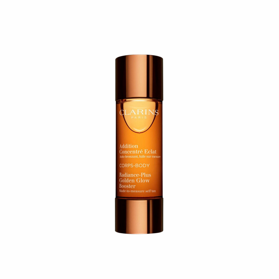 Golden glow booster body från Clarins