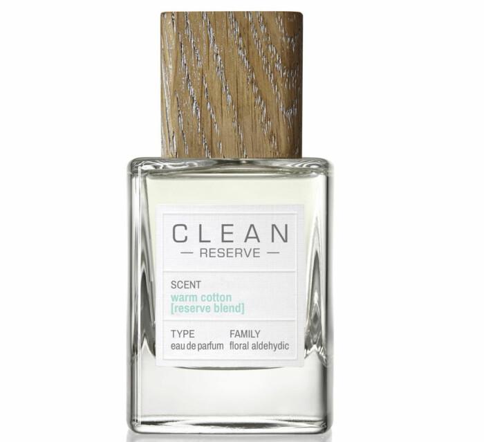 clean reserve warm cotton parfym fräsch nytvättat