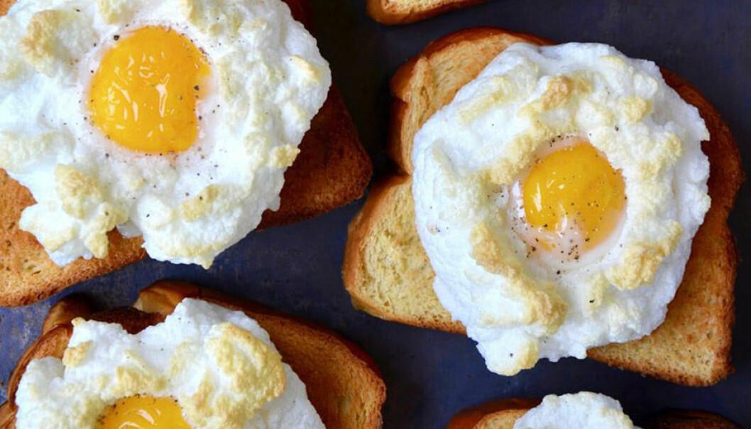 Ägg moln är en stor trend på Instagram. Så enkelt kan du göra dem.