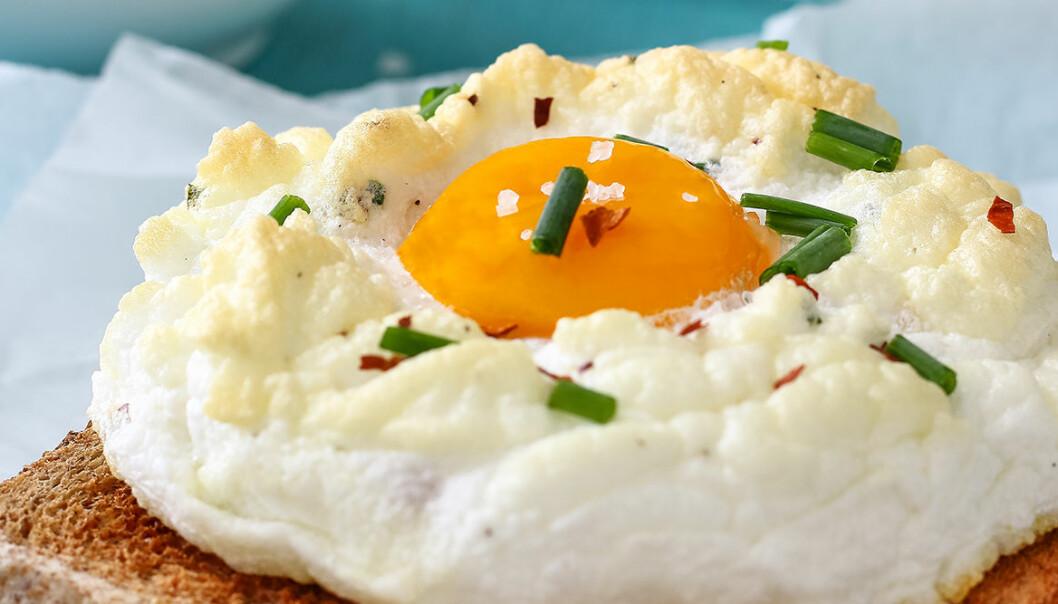 """Har du testat att göra ägg i moln, eller """"cloud eggs""""?"""