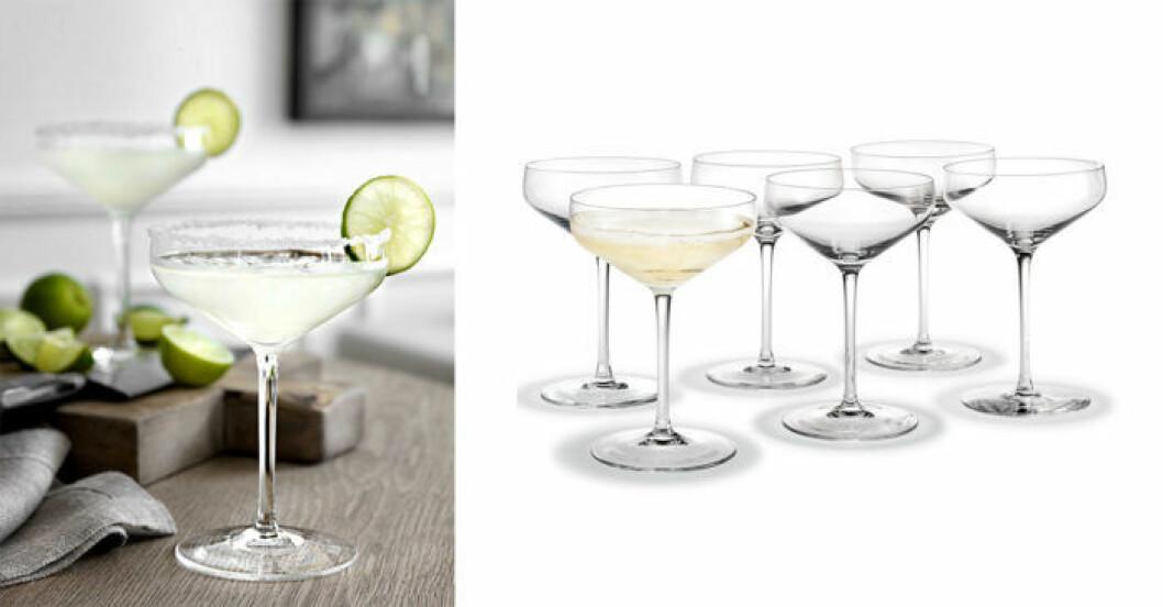 Hitta rätt glas - cocktailglas
