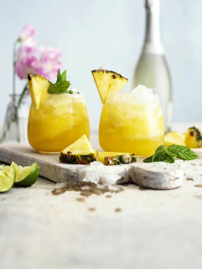 Så enkelt gör du en cocktailslush med ananas