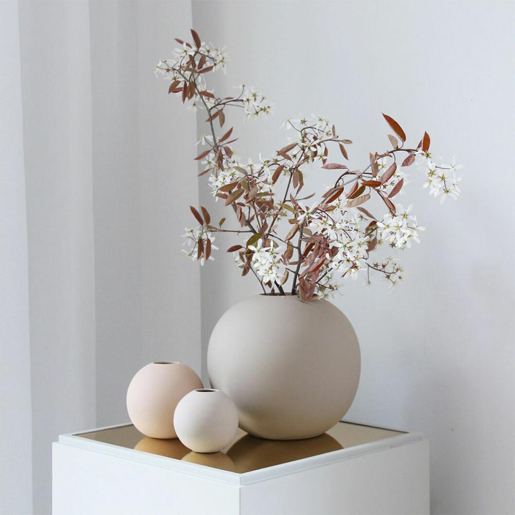 rund vas från cooee