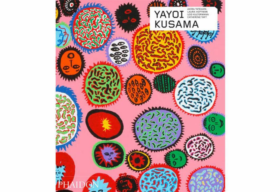 Coffee table boken Yayoi Kusama