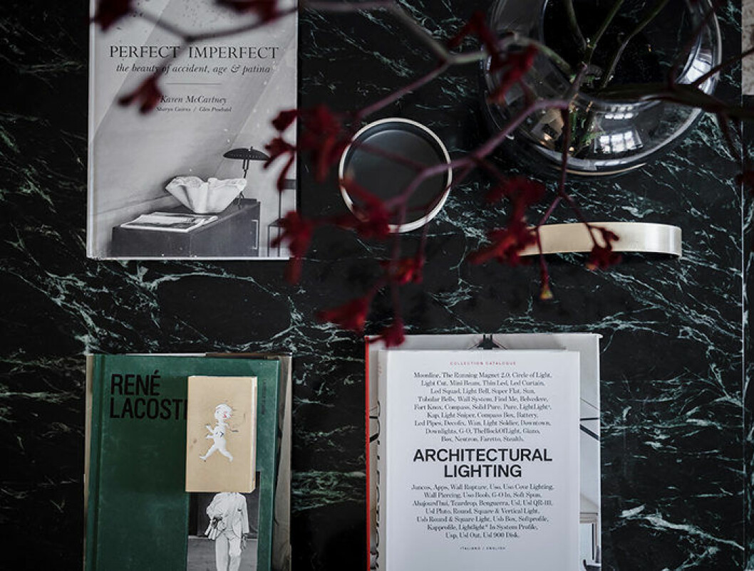 coffee table-böcker är en snygg inredningsdetalj
