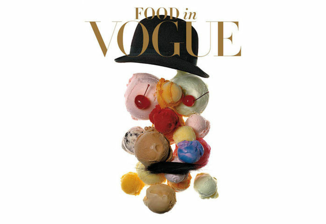 Coffee table-boken Food in Vogue