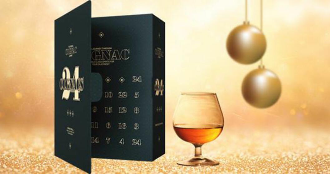 Cognacskalender från 24 Cognac, 749 kr.