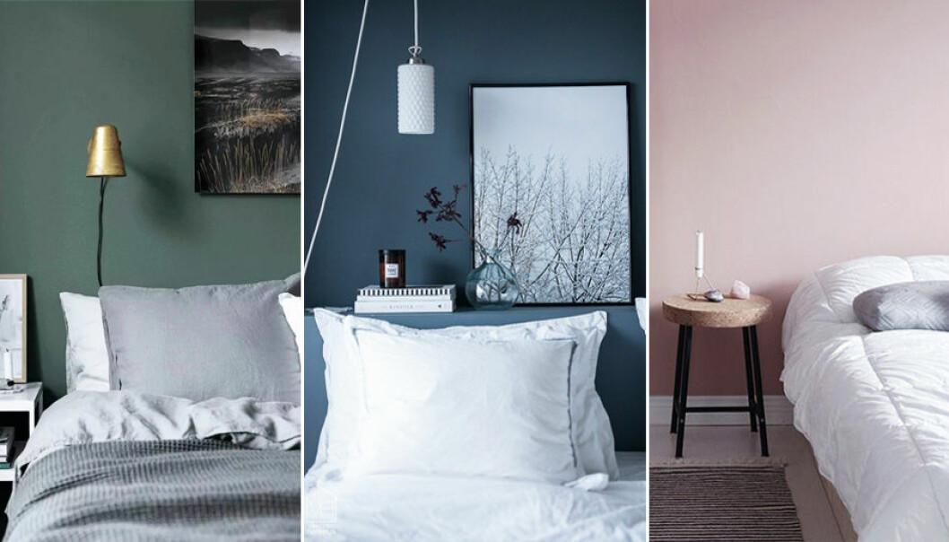 Färgerna du ska måla sovrummet i för bättre sömn