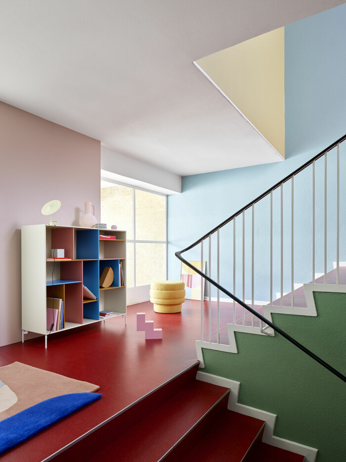 colour blocking hos montana furniture