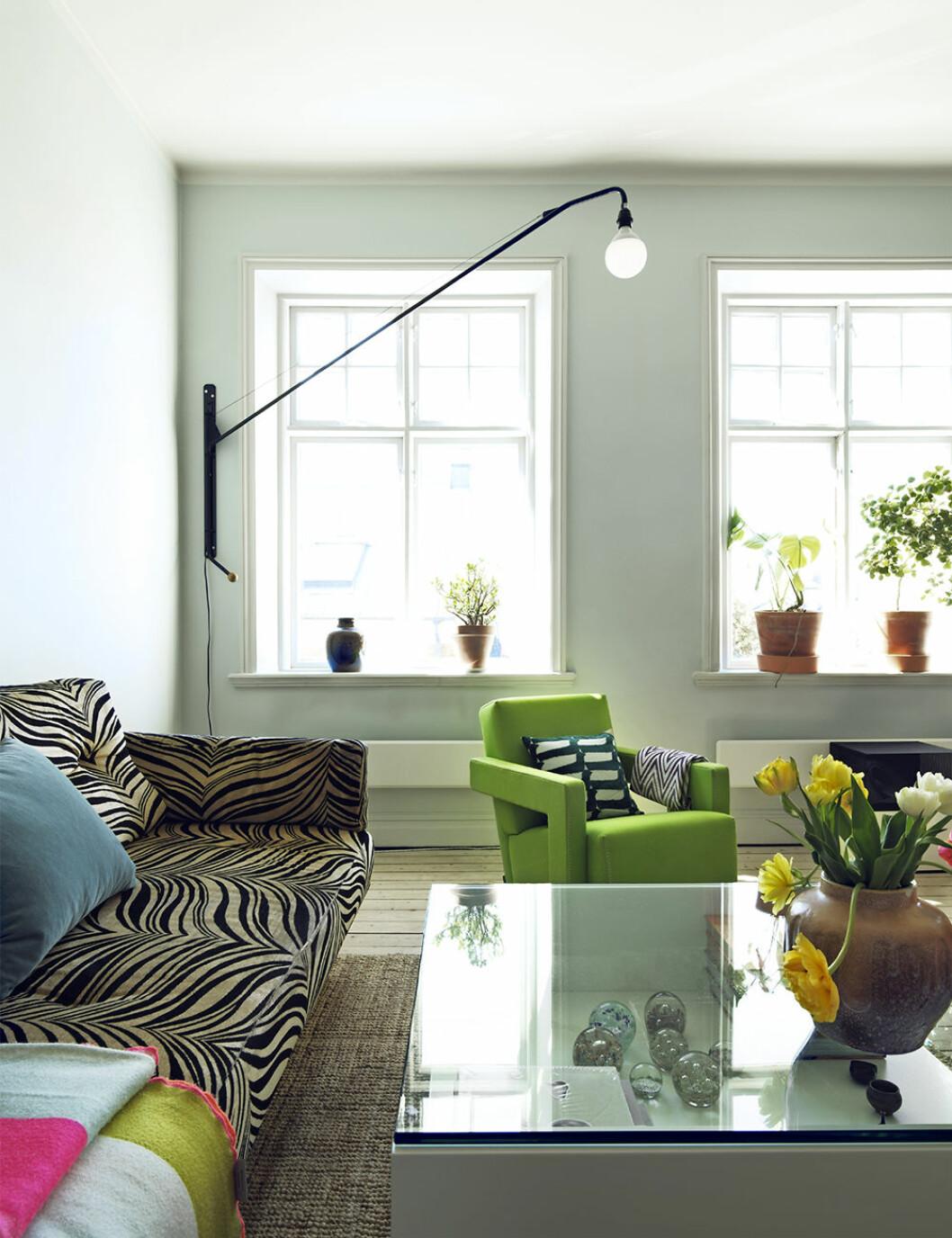 Vägghängd belysning är en smart compact living-lösning