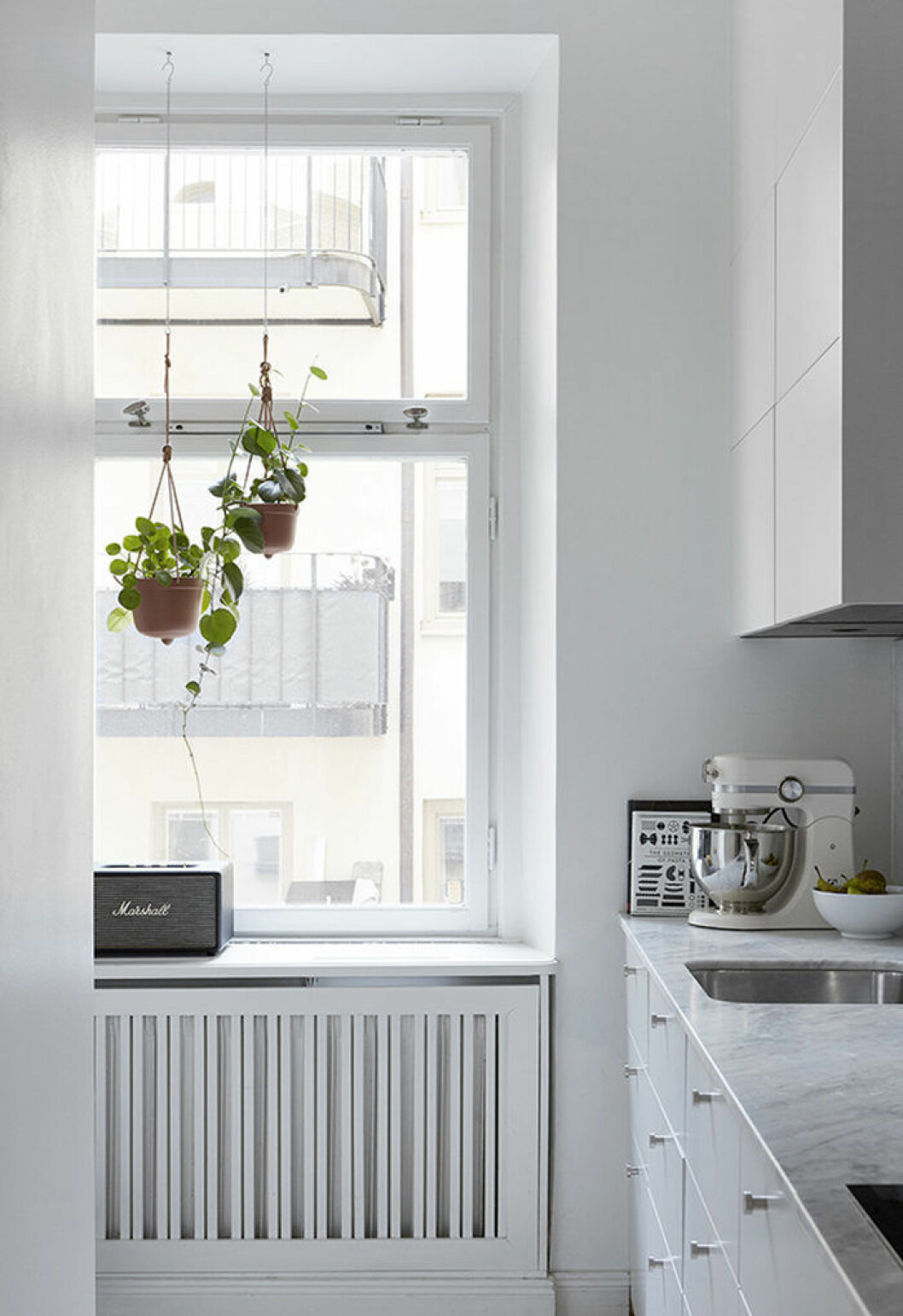 Häng upp växterna i fönstret – ett smart compact living-knep