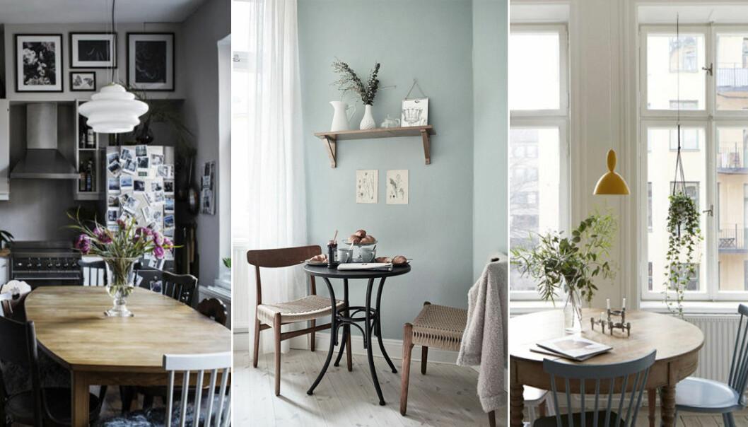 Inred ett compact living-kök