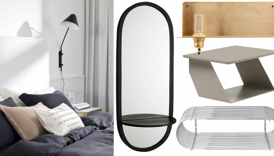 Möbler till compact living-sovrum