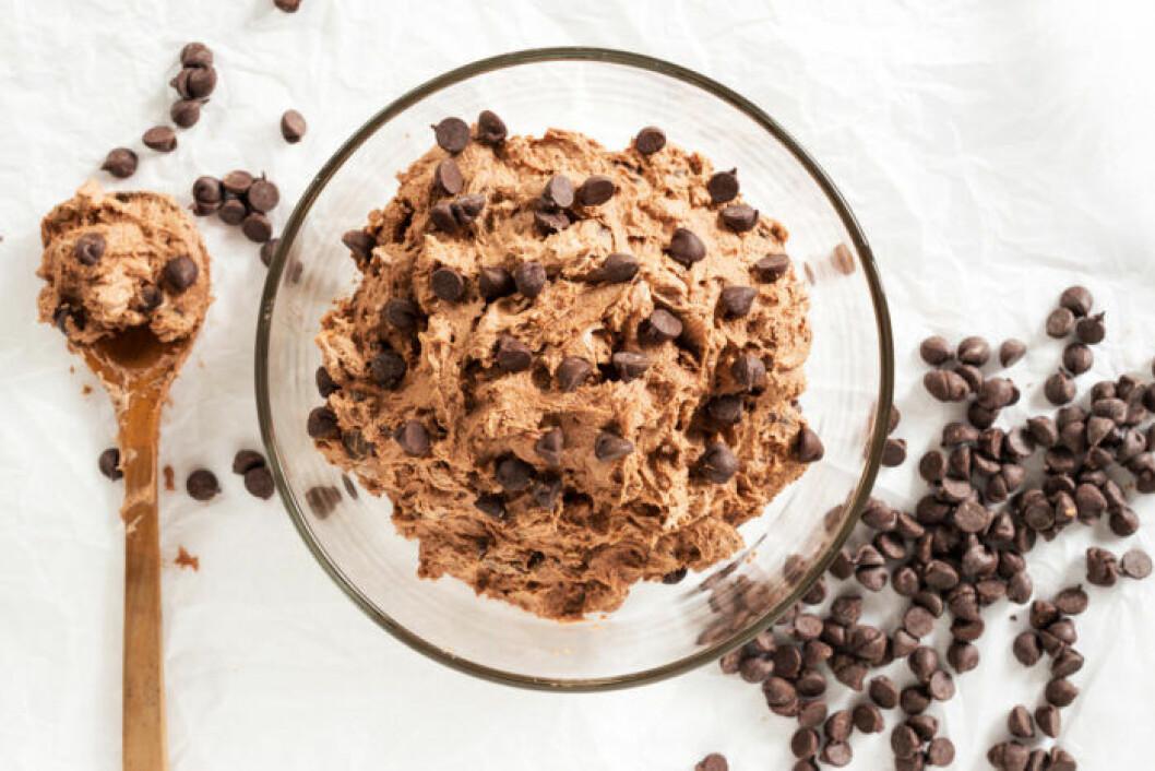 Baka egen cookie dough.