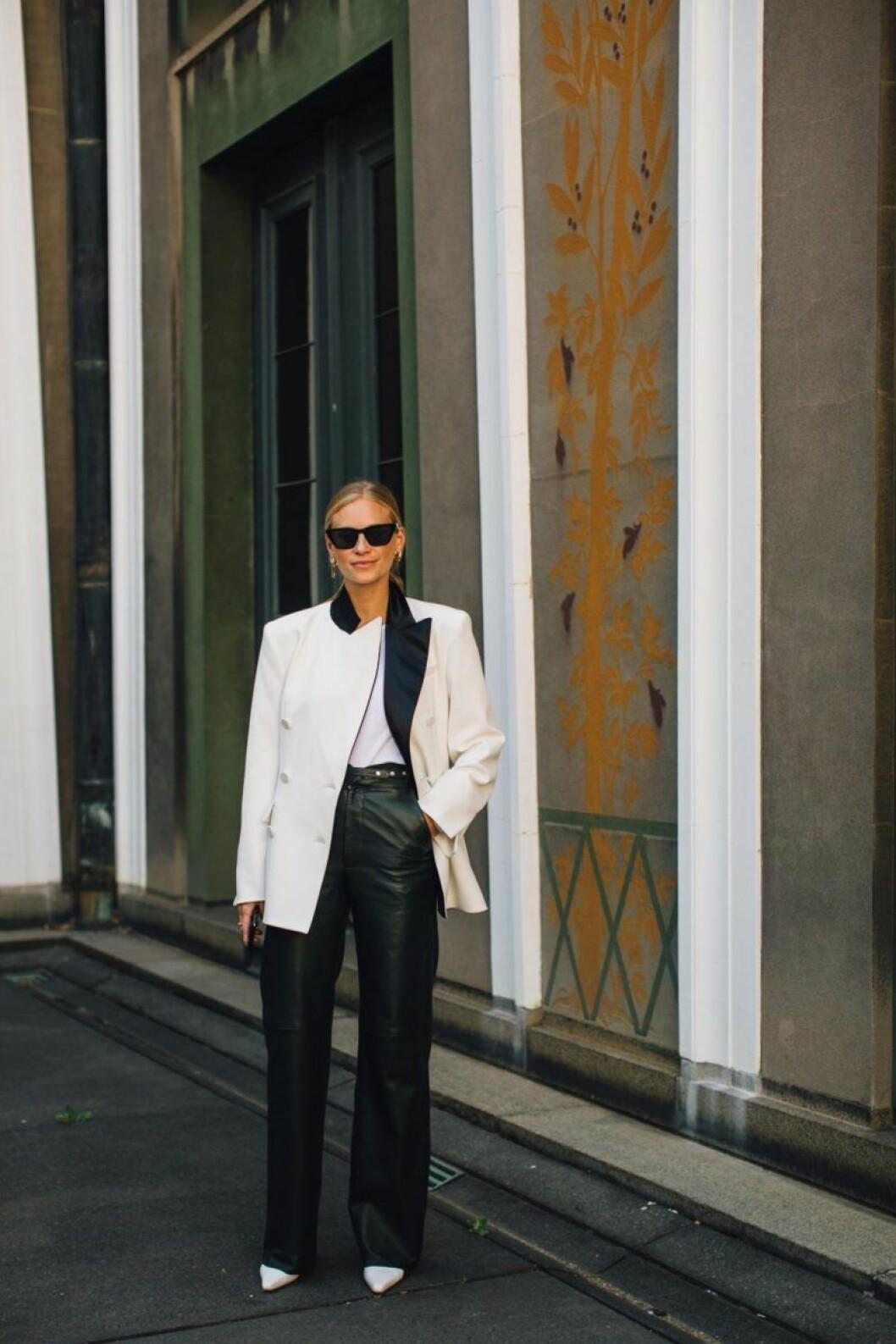 Svartvitt är en klassiker, Tine Andrea står för inspirationen.