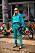 Köpenhamns modevecka i turkost och teal.