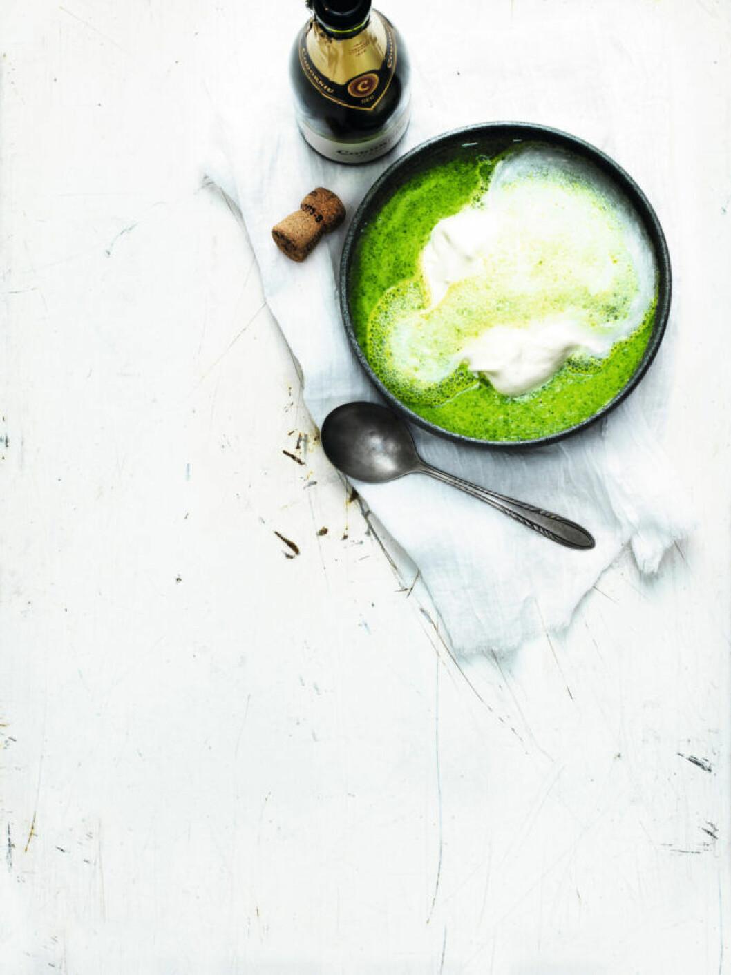 Recept på crème ninon soppa