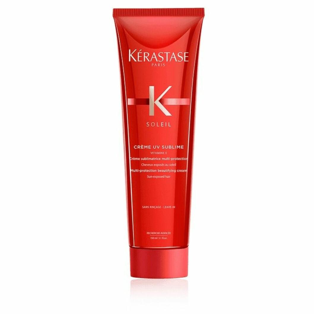Kèrastase Crème UV Sublime är återfuktande och skyddande.