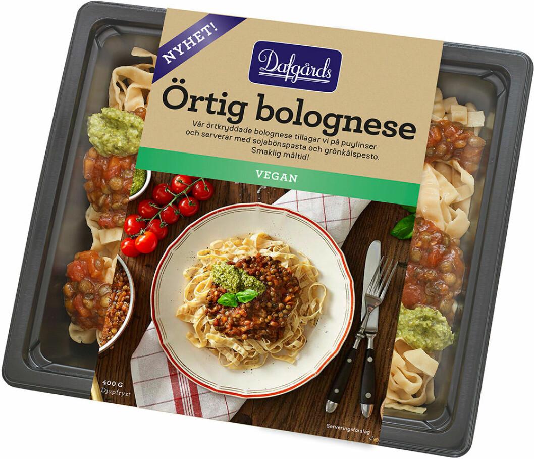 Örtig bolognese.
