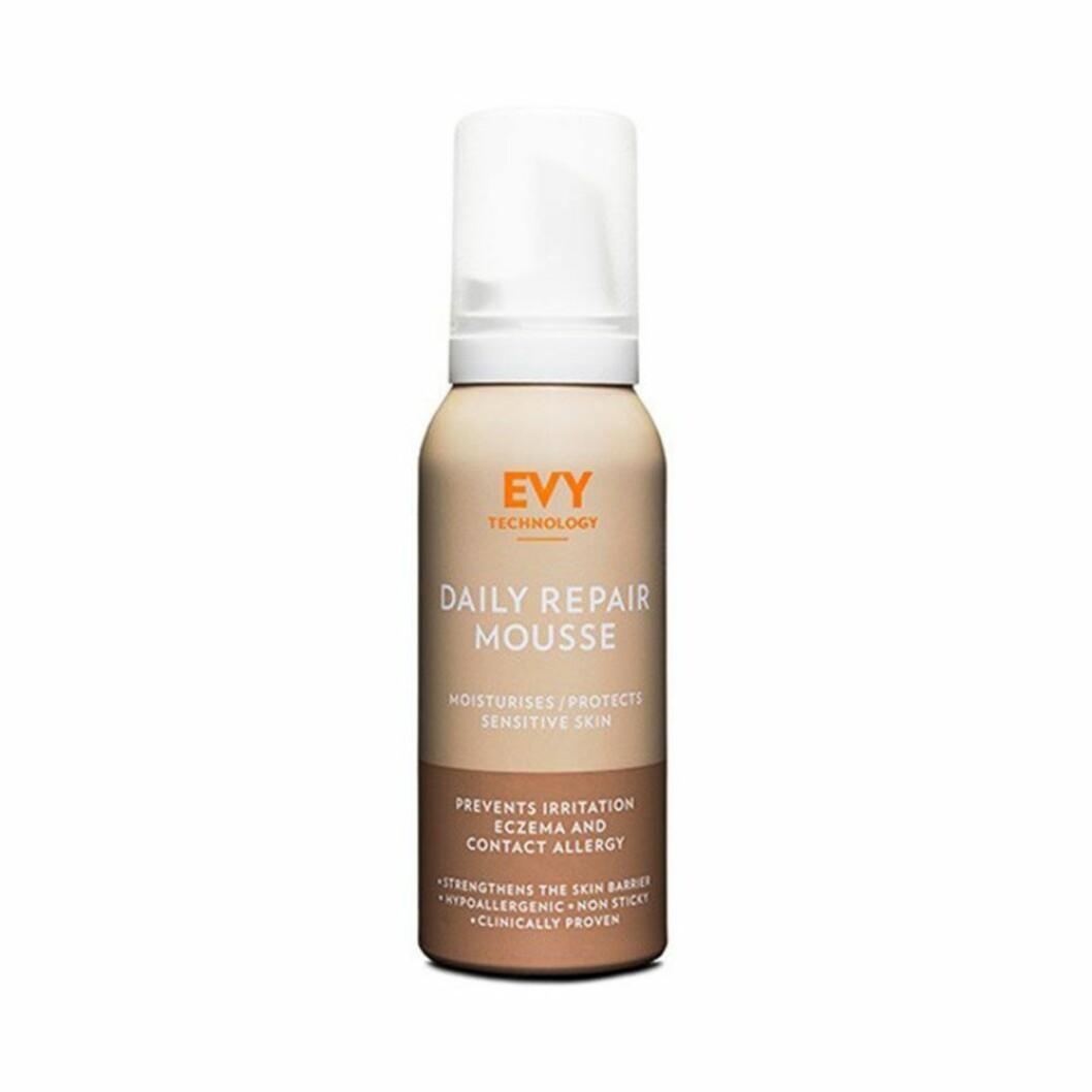 Evy technology har en härlig mousse vid namn Daily repair mousse som gärna kan användas som en skön aftersun.