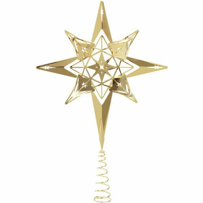 Dekorativ toppstjärna i guld, Rosendahl