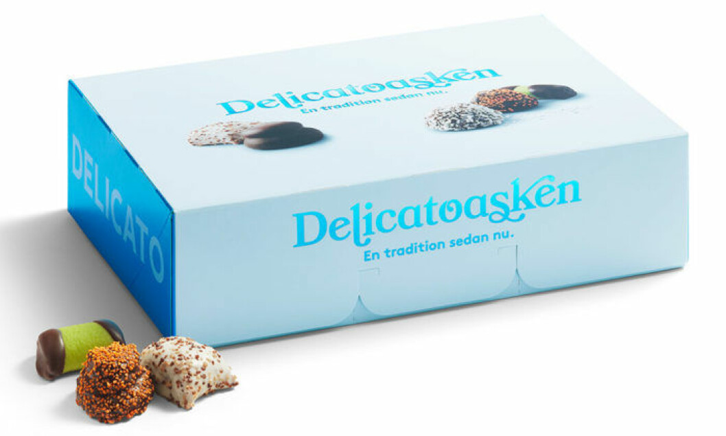 Delicatoasken 2018 kostar ca 99 kr.